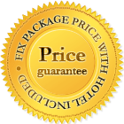 Fix package price with hotel included